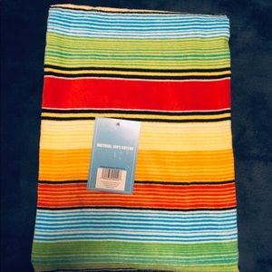 Other - NWT Striped Beach Towel  30 X 60